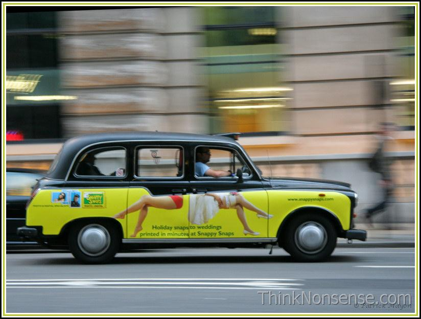 Funny Cab advert