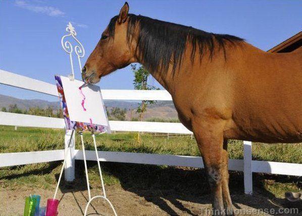 painter horse