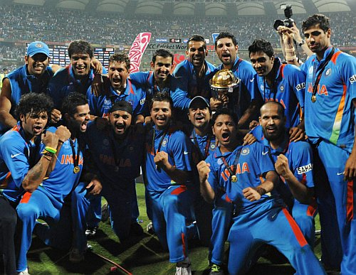 World Cup 2011 Champions - India